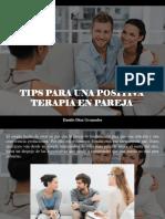 Danilo Díaz Granados - Tips Para Una Positiva Terapia en Pareja