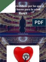 Constantino Parente - 10 Razones Científicas Por Las Que El Teatro Es Bueno Para La Salud, Parte I