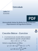 Aula 03.1 - EnG033 - Eletricidade_Exercícios