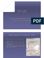 Samsung YP-U3 Firmware Installation
