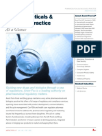 Pharmaceuticals & Biologics One-Pager