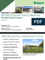 2019 0130 Market PublicMeeting Presentation