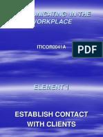 communicate element1