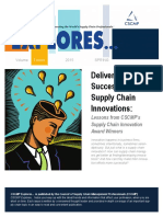 Delivering Successful Supply Chain Innovations