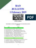 Bulletin 190201 (HTML Edition)