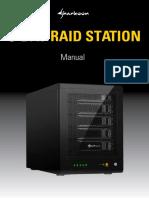Manual 5-Bay Raid Station En