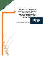 Manual de Mantenimiento Rev02