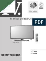 Modelo Da Nossa Tv Semp Toshiba LE2456f