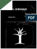 George Yule - El Lenguaje
