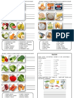 The Fruits Vegetables Practice for Secondary