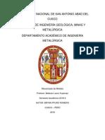 Mecanizado de Poleas. 2018-II