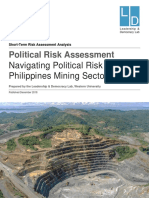 Navigating Political Risk in the Philippines Mining Sector