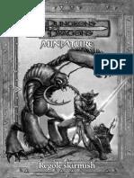 Dungeons&Dragons Miniatures - Regolamento Italiano
