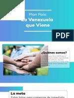 Plan País 2019 - La Venezuela Que Viene