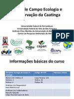 Apresentao Curso de Campo Da Caatinga_para Davi
