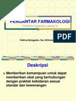 PENGANTAR FARMAKOLOGI