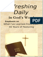 """What I Have Learned From Over 40 Years of Pastoring""  February 2019"