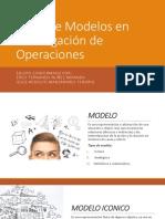 Tipos de Modelos en Investigación de Operaciones