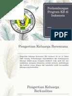 Perkembangan Program KB di Indonesia