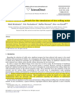 2008 - A Finite Element Approach for the Simulation of Tire Rolling Noise