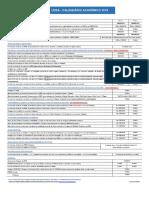 Calendário Acadêmico UFBA