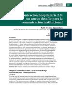 Comunicación interna administrativa Hospitalaria