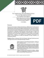 3. El Liderazgo Transformacional en Las Organizaciones (19 Págs.)