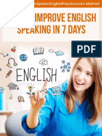 Speak English in a Week