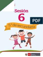 Sec5 Unidad de Aprendizaje