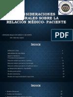 Consideraciones Generales Sobre La Relación Médico- Paciente (1)