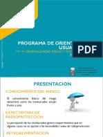 6 Programa de Orientacion Al Servicio de Dosimetria Radiaciones Ionizantes CS MTR 2015
