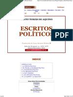 Escritos Políticos - Tomas