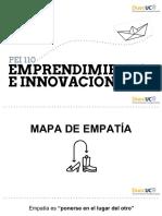 1. Mapa de empatía