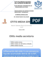 Otitis Media Serosa