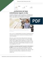 Exportaciones de Fajas Colombianas Suben en 2018 2