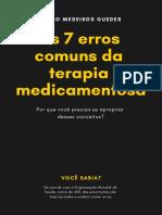 [E-book Gratuito] Os 7 Erros Comuns Da Terapia Medicamentosa