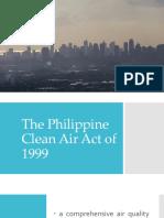 PHILIPPINE CLEAN AIR ACT
