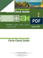 Circle check guide