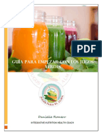 Guía Para Empezar Con Los Jugos Verdes Regalo