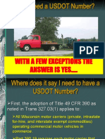 Do I Need a USDOT Number