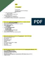 Final Exam Study Guide Health Assessment