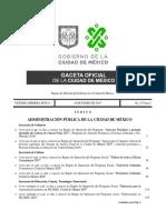 2019 CDMX Reglas de Operación Programas Sociales