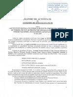 3. Raport Activitate-Comisia III