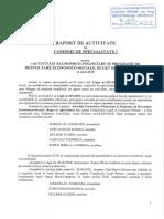 1. Raport Activitate-Comisia I