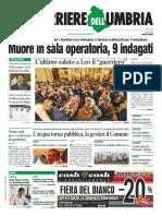 La Rassegna Stama Nazionale e Dell'Umbria Del 1 Febbraio 2019, Venerdì