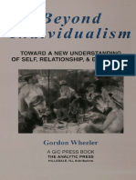Gordon Wheeler-Beyond Individualism_ Toward a New Understanding of Self, Relationship, And Experience-Gestalt Press (2000)