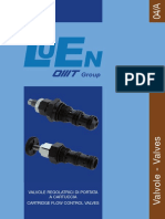 LUEN CARTRIDGE FLOW CONTROL VALVES