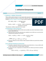 coordination Compounds