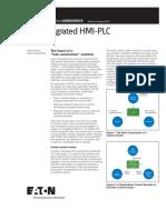Integrate HMI PLC