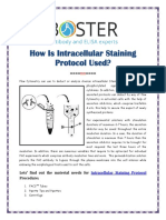 How Is Intracellular Staining Protocol Used